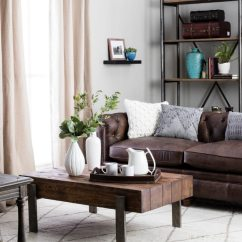 Farmhouse Sofa Table Plans Bobs Furniture Leather And Loveseat Rustic Decorating Ideas You'll Love - Overstock.com