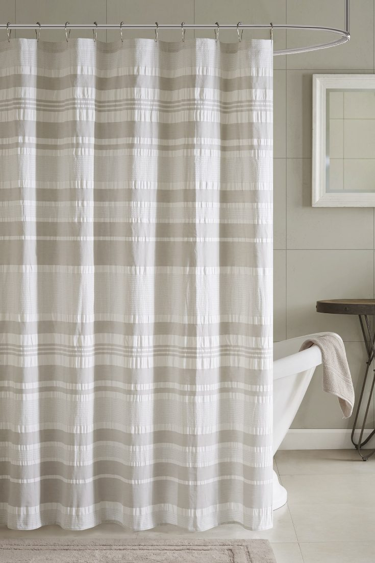 5 Tips on Using Cloth Shower Curtains  Overstockcom