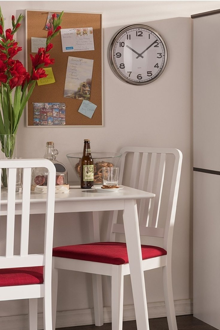 Kitchen Chairs Wood Best Kitchen Furniture For A Small Kitchen Overstock