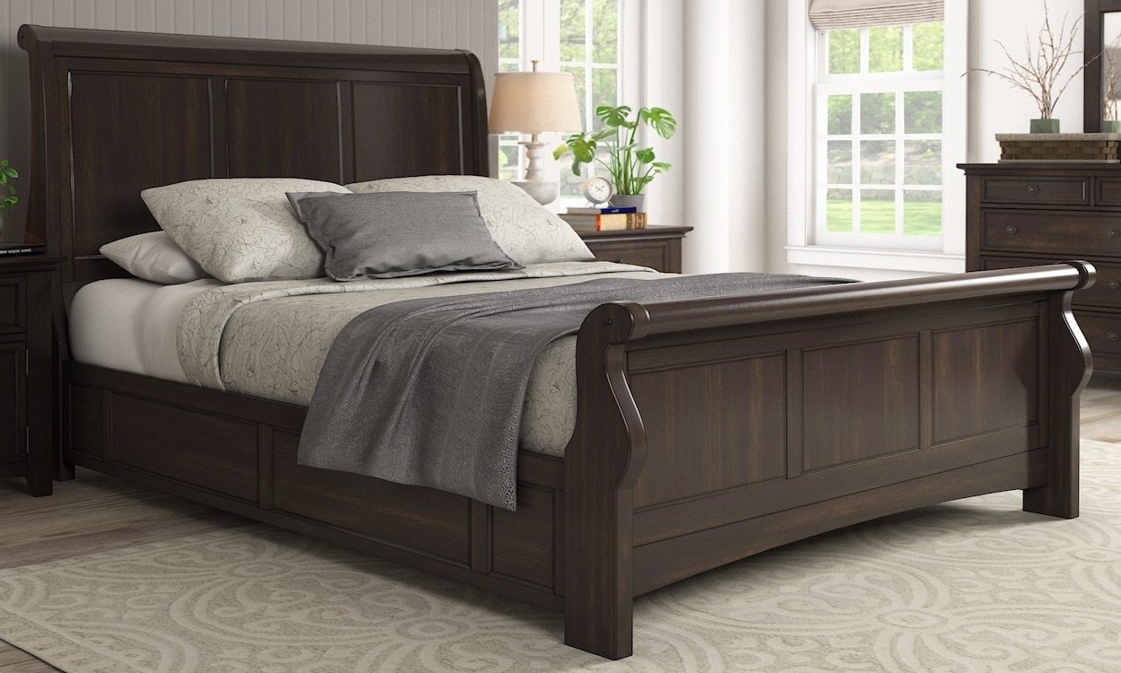 How To Put A Sleigh Bed Together Overstockcom Tips Ideas