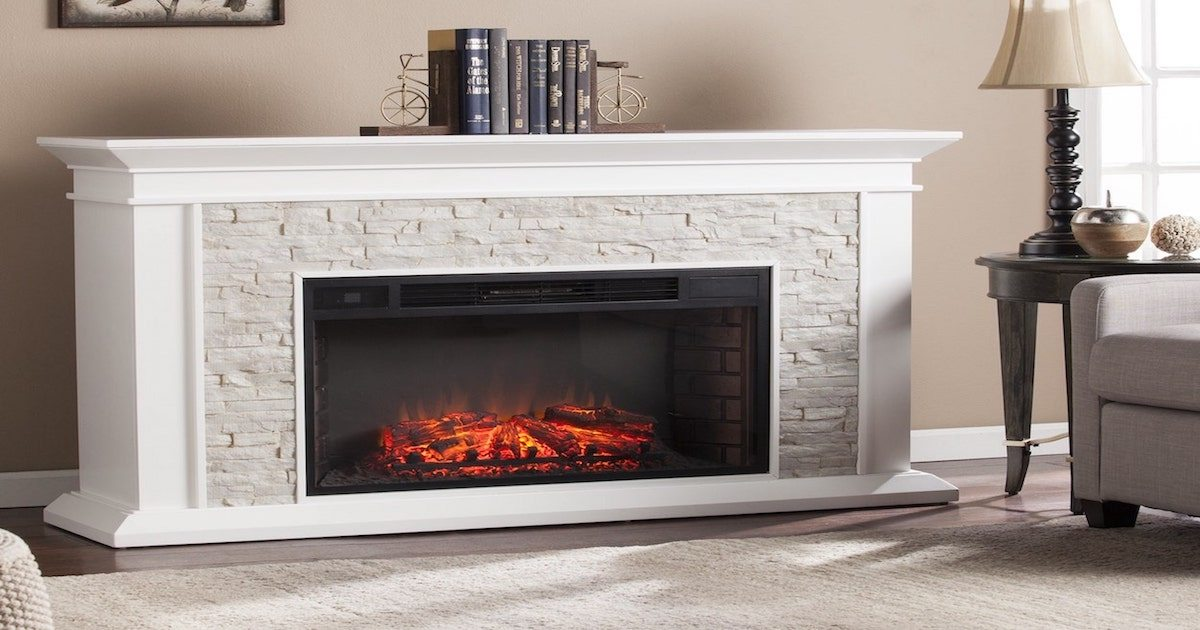 How to Buy an Electric Fireplace  Overstockcom
