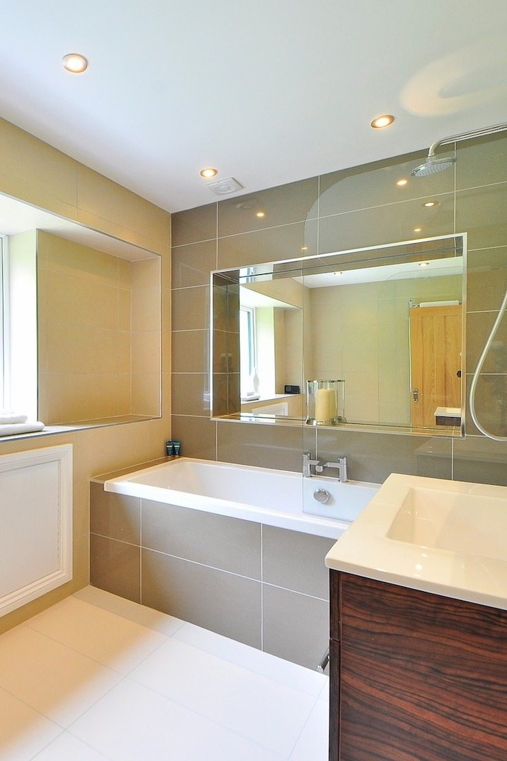 How to Install Recessed Lighting above a Shower