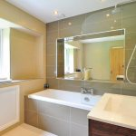 How To Install Recessed Lighting Above A Shower Overstock Com
