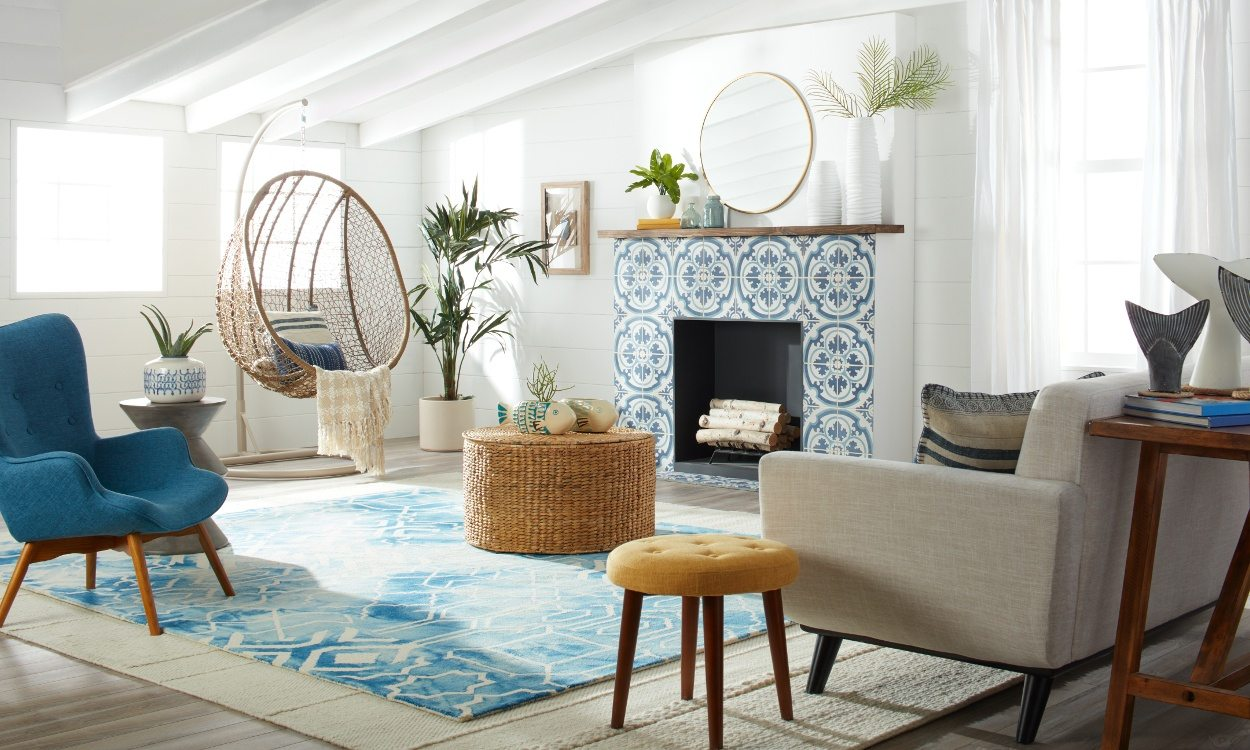 Modern beach house decorating ideas for Summer beach house decor