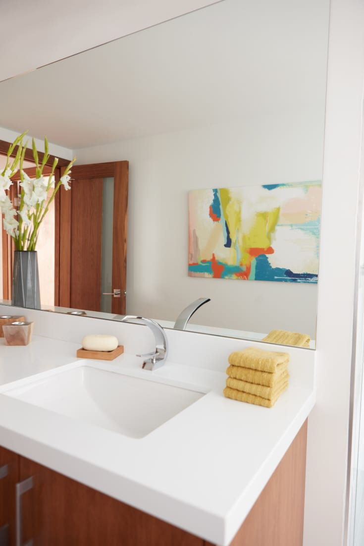 Decorate A Bathroom 6 Ways To Decorate Your Bathroom Like A Designer Overstock