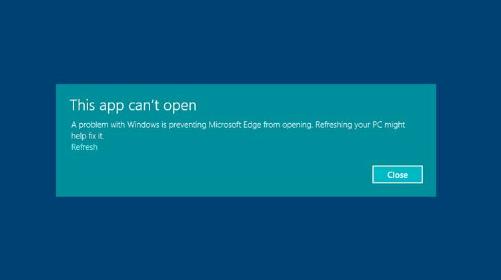 Hasil gambar untuk this app can't open windows 10