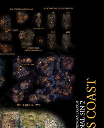 Divinity Original Sin 2 Nameless Isle Map : divinity, original, nameless, Reaper's, Coast,, Divinity:, Original