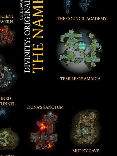 Divinity Original Sin 2 Nameless Isle Map : divinity, original, nameless, Nameless, Isle,, Divinity:, Original
