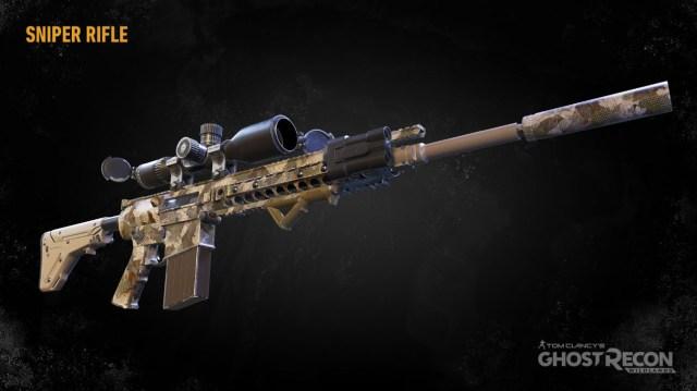 Снайперские винтовки в Ghost Recon: Wildlands