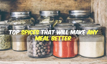 Spices Make Meals Better