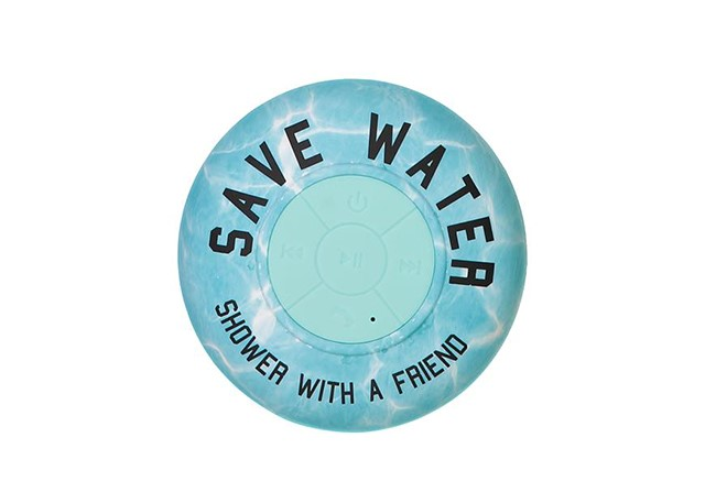 save water shower with a friend speaker