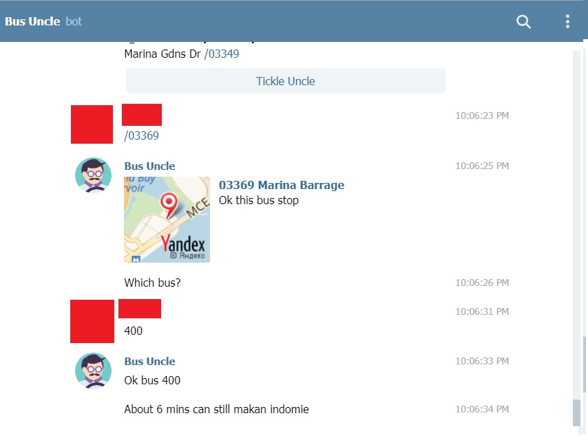 Telegram Groups / Bots in Singapore that are Useful for