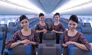 Singapore Airlines Cover Photo