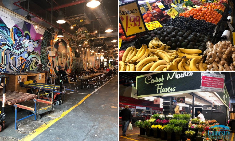 Adelaide Chinatown Central Market Collage