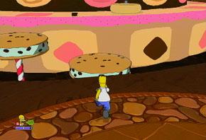 Solo llegarás con un salto doble, Homero