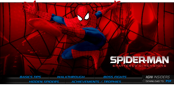 Spider Man Shattered Dimensions Ps3 Walkthrough And