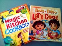 The cookbooks we used