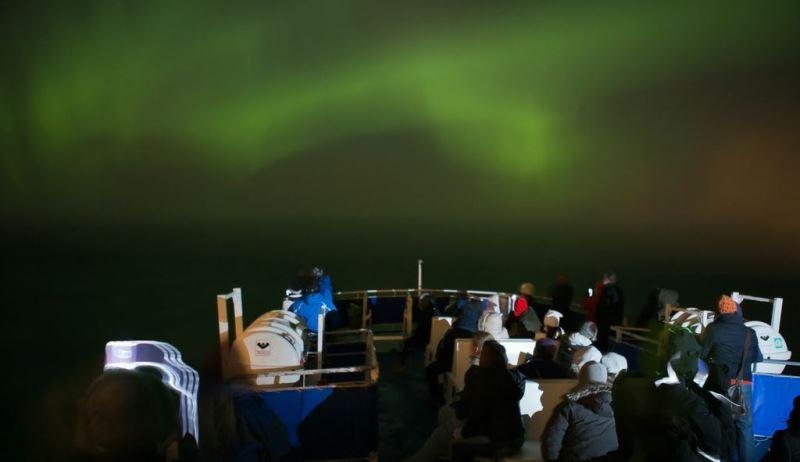 Northern Lights Boat Tour Iceland