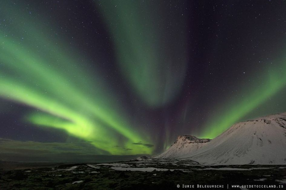 Best Time Northern Lights Iceland