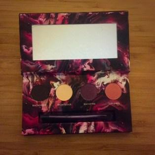 urban decay sephora eyeshadow palette vib sale haul backdoor righteous backfire fireball