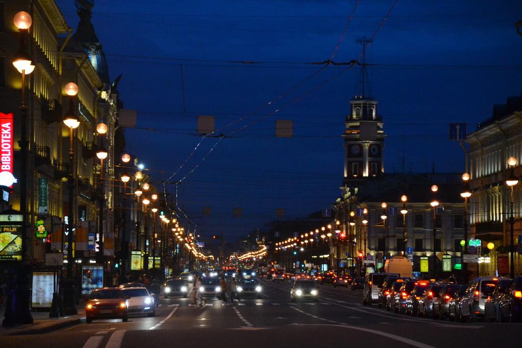 Night in Petersburg