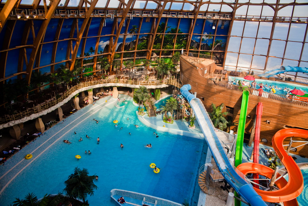 Piterland is The biggest waterpark in St. Petersburg