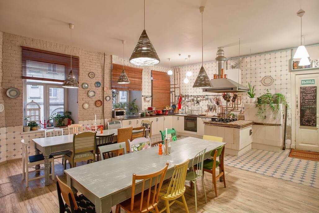 kitchen in Soul Kitchen hostel