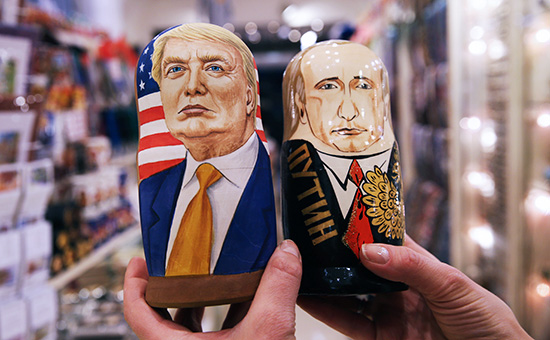 Russian nesting dolls: Putin and Trump