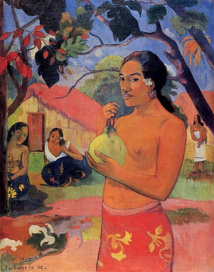 The Woman Holding Fruit