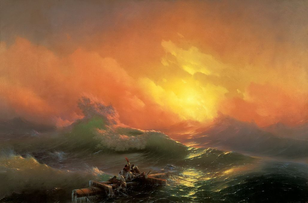 The Ninth Wave - Ivan Aivazovsky