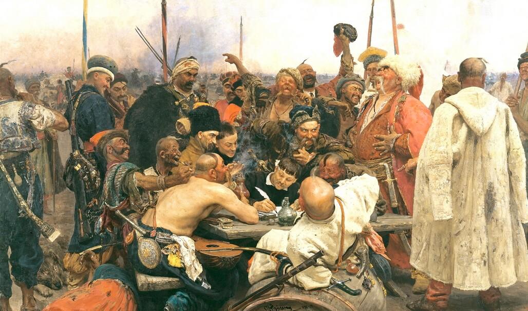 Reply of the Zaporozhian Cossacks to Sultan - Ilya Repin