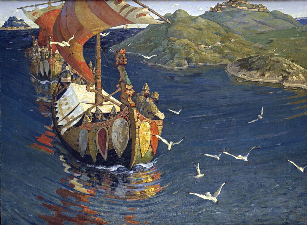 Guests From Overseas- Nikolas Roerich