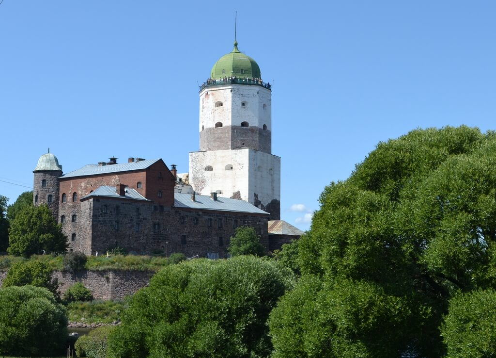 The castle of Vyborg