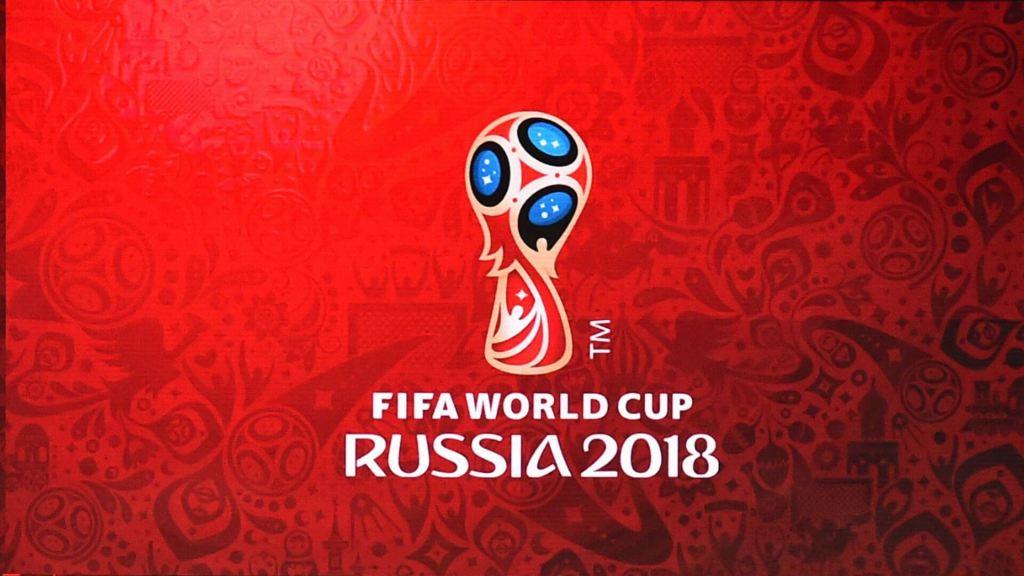 Football WC 2018 emblem
