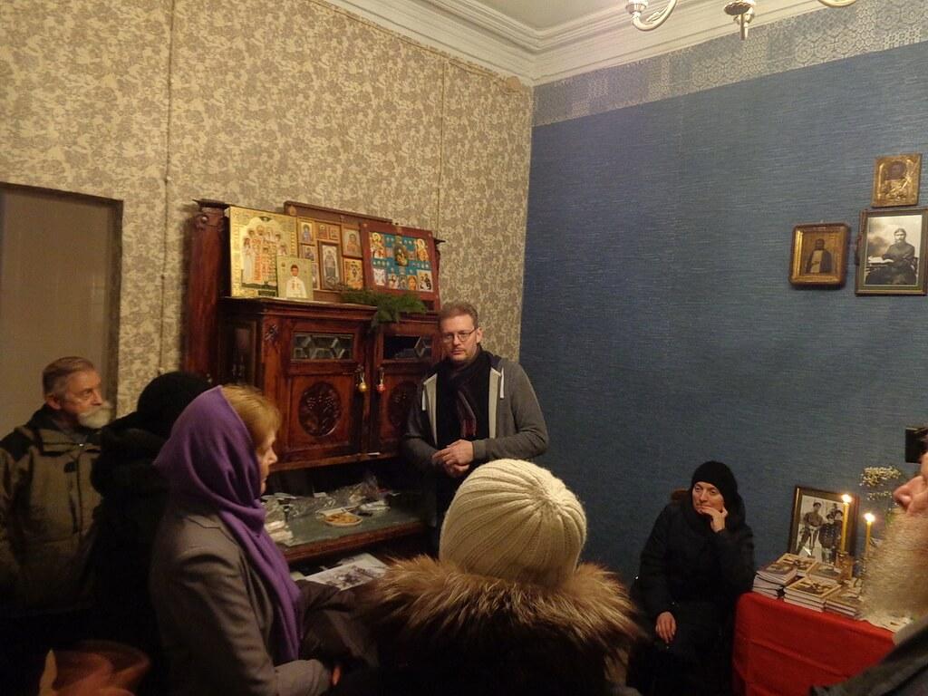 Excursion to Rasputin's flat