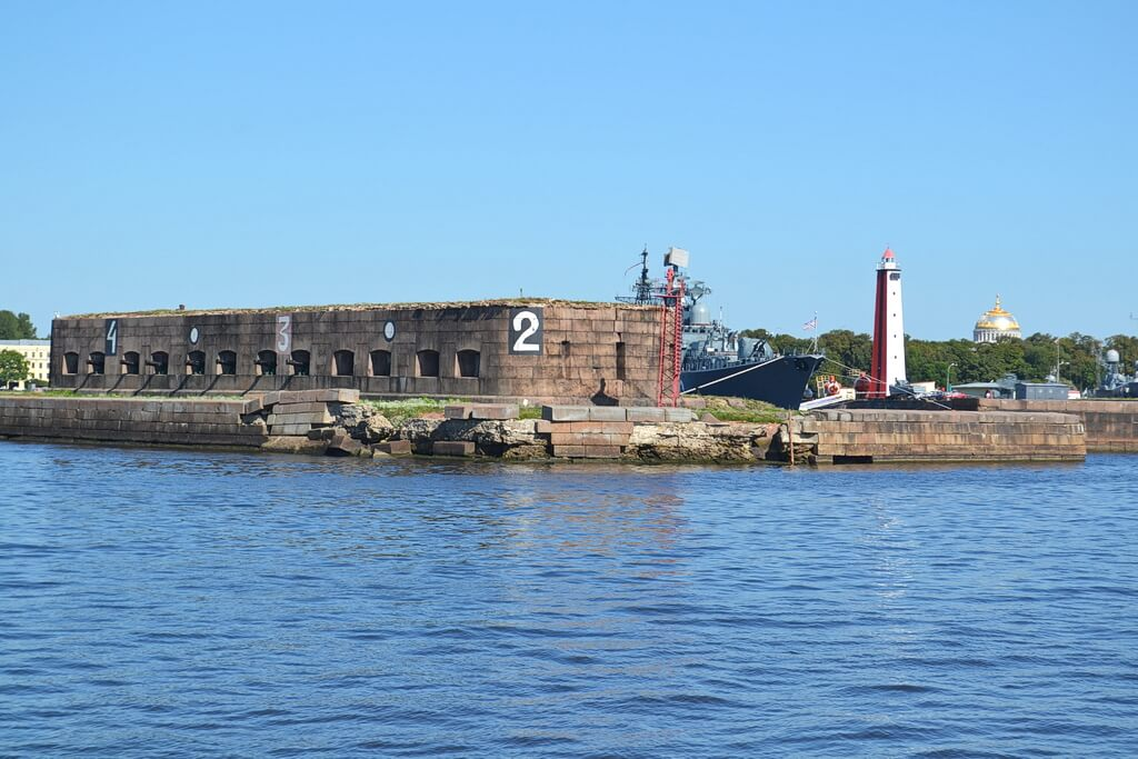 a fort of Kronstadt