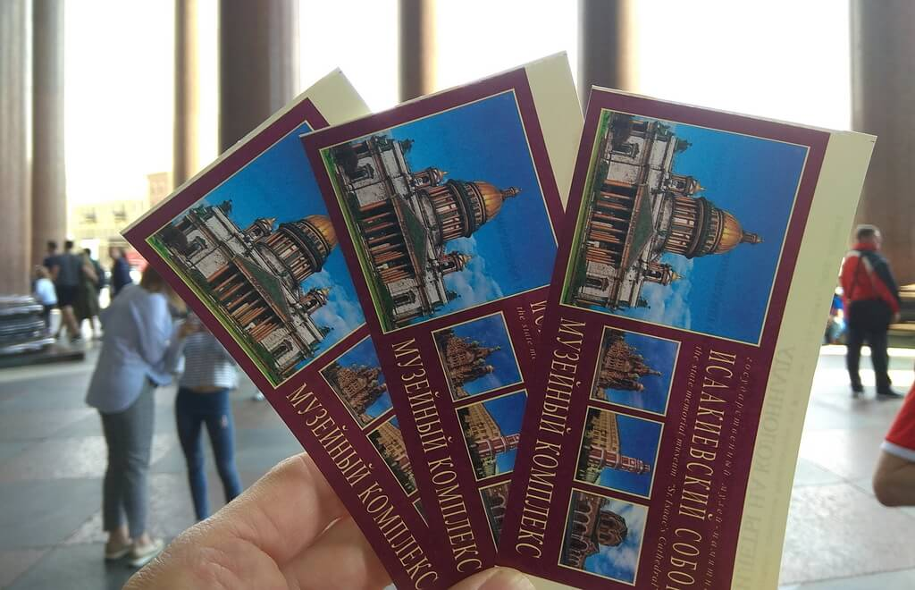 Tickets to the St. Isaac Cathedral