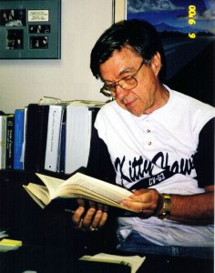Hal Puthoff researching in his office in 2000