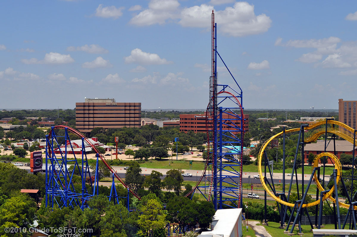 Mr Freeze Six Flags Over Texas