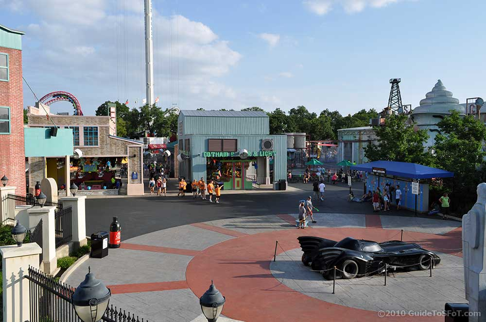 Gotham City Area Guide To Six Flags Over Texas
