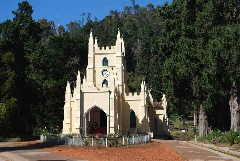 St. Stephen's Church - Ooty Sightseeing