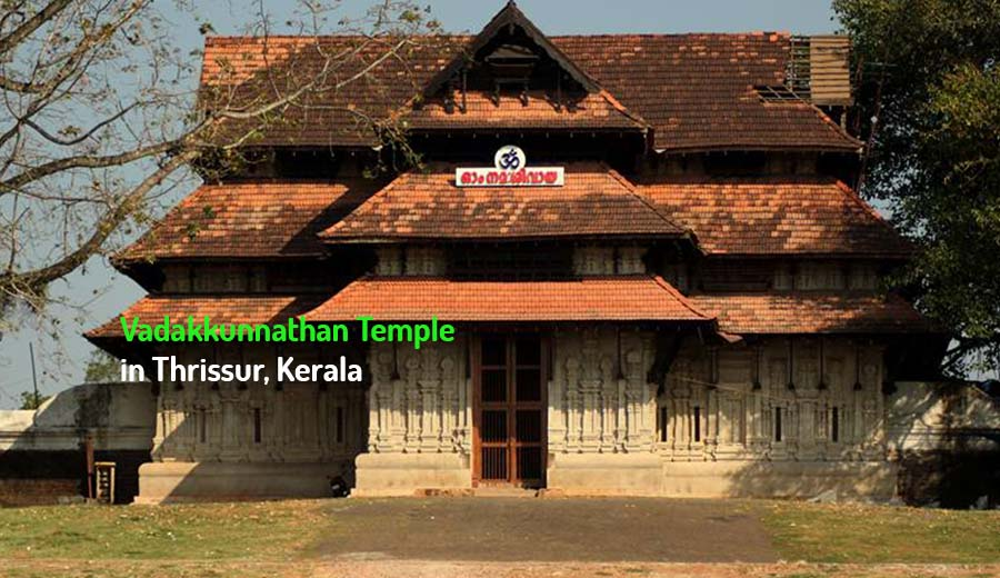 Vadakkunnathan Temple in Thrissur, Kerala