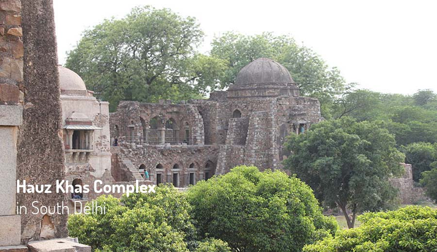 Hauz Khas Complex in South Delhi