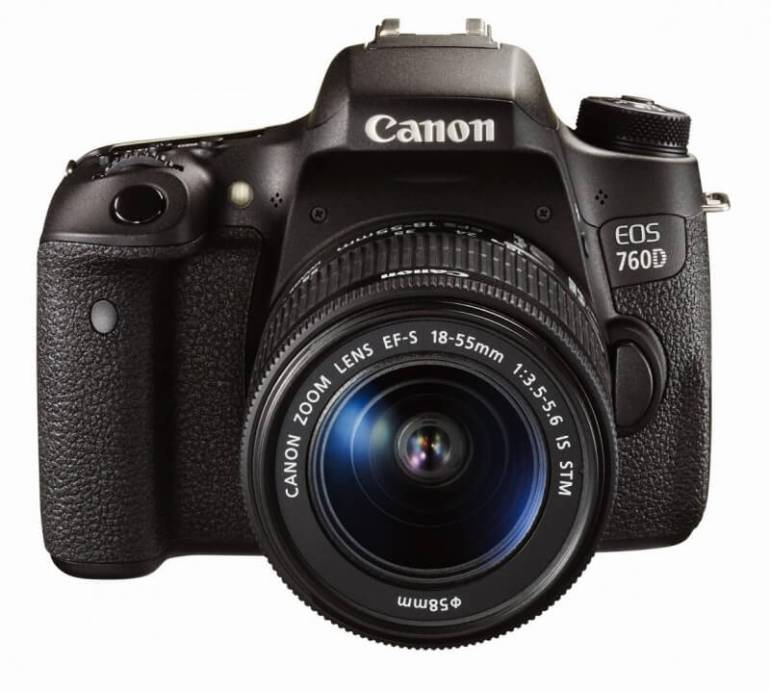 Canon EOS 750D - Recommended Travel Camera for Beginners