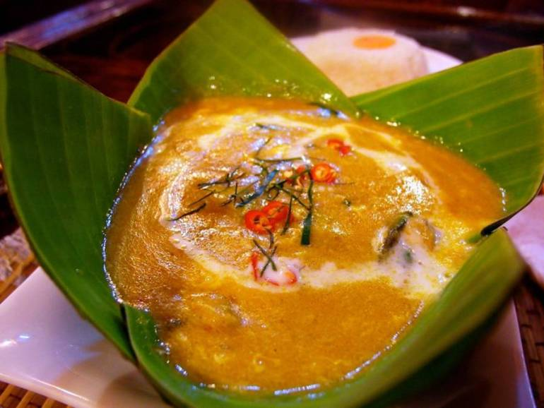 Amok Curry - Top 10 Eats in Southeast Asia