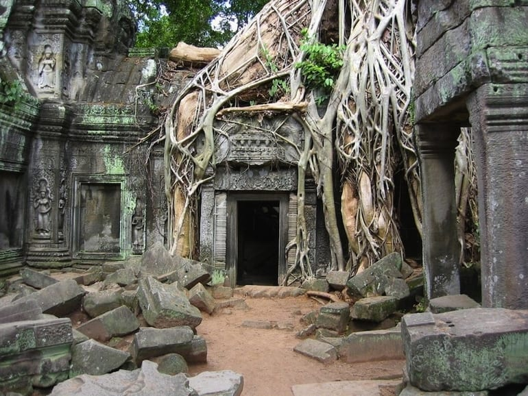 Angkor Wat in Cambodia - Most Beautiful Abandoned Places In The World