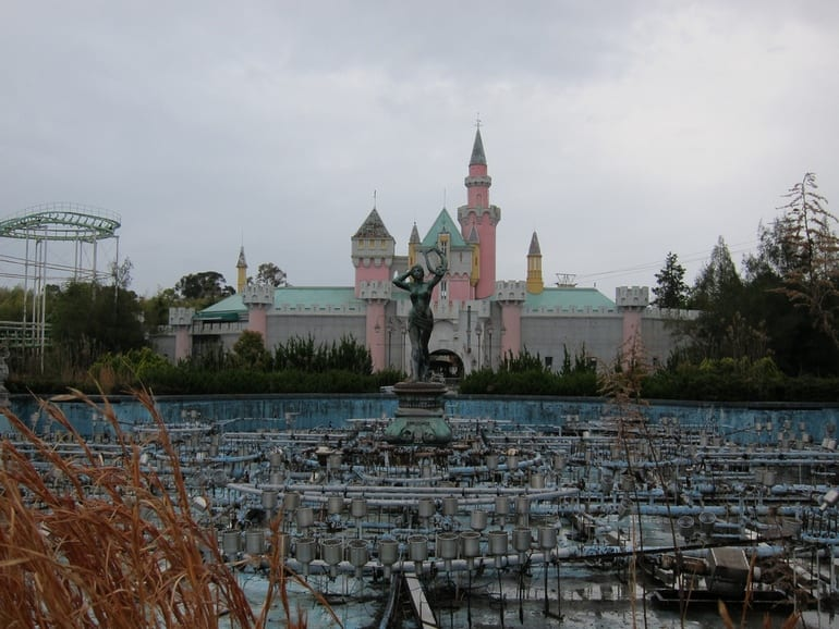 Nara Dreamland in Japan - Most Beautiful Abandoned Places In The World