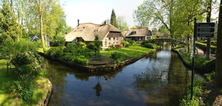 Ways to go to Giethoorn