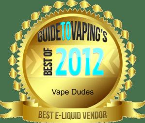 best e-liquid vendor 2012