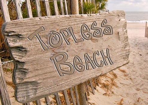 topless beach e-liquid